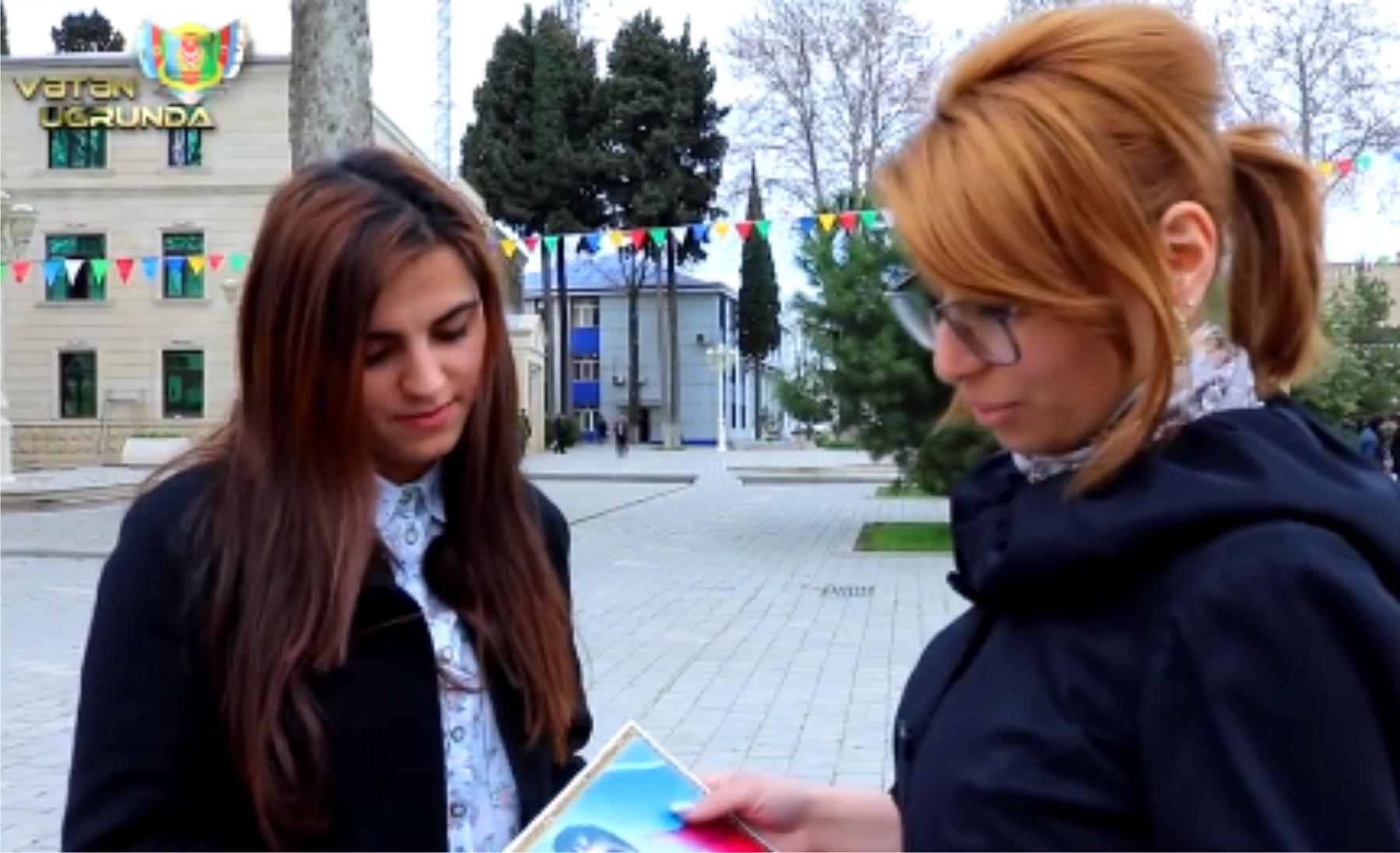 TƏRTƏRDƏ ŞANLI APREL ZƏFƏRİ İLƏ BAĞLI SORĞU KEÇİRİLİB