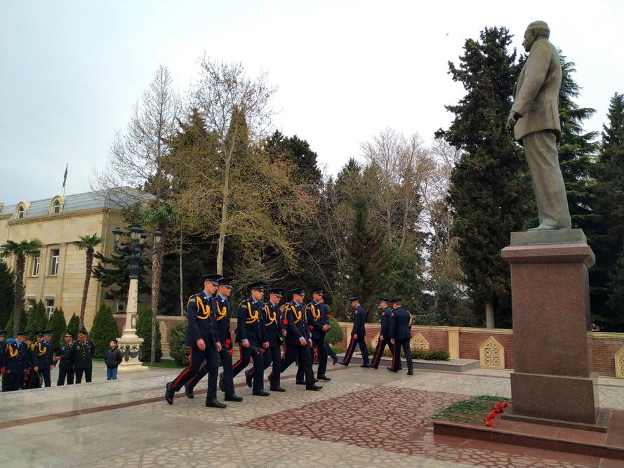 Gəncə Qarnizonu Zabitlər Evinin təşkilatçılığı ilə ekskursiyalar təşkil edilib
